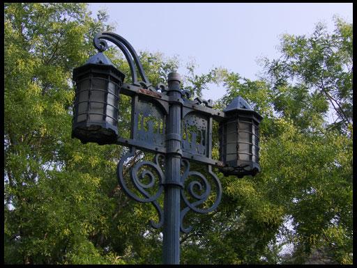 металлические осветительные приборы
