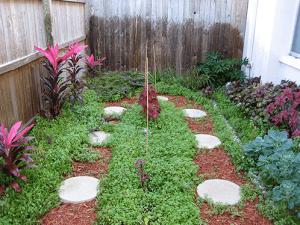 как сделать садовые дорожки
