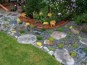 из чего сделать садовые дорожки