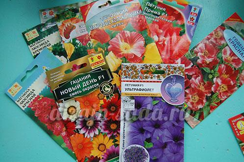 посев цветов в феврале