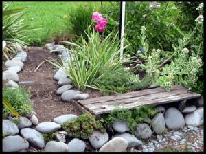 строительство садовых дорожек