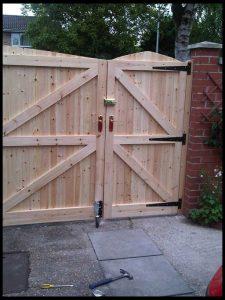 садовые ворота своими руками фото