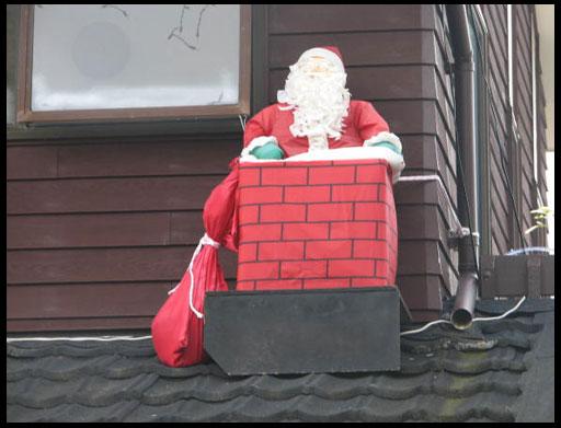 новогоднее украшение загородного дома или дачи