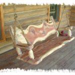 деревянные качели фото