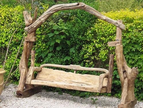 садовые качели фото