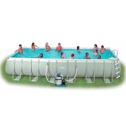 Дачный каркасный бассейн INTEX