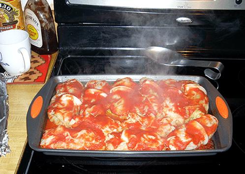 как приготовить голубцы с мясом