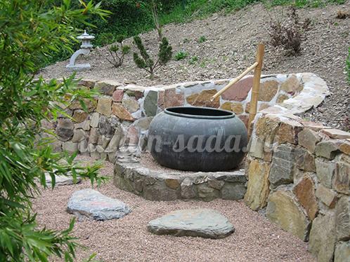 наклонный сад