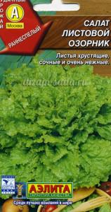сорта зеленого салата