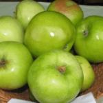 яблоня Зеленое озарение
