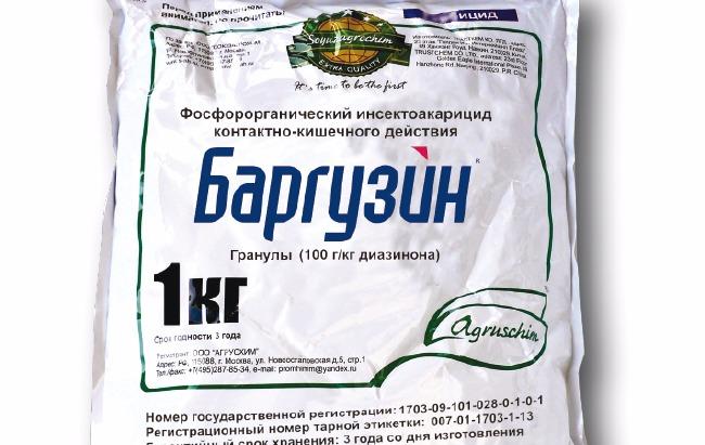 препарат баргузин от проволочника инструция