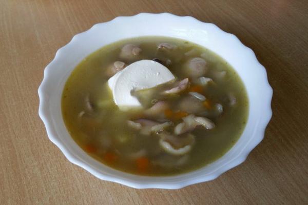 суп с маслятами рецепт